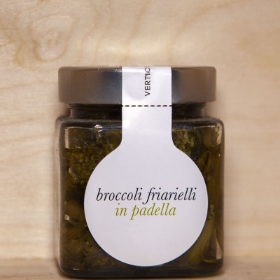 Broccoli friarielli in padella