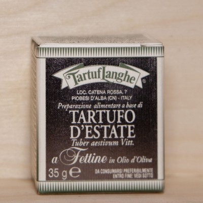 Tartufo d'estate - Fettine in olio d'oliva